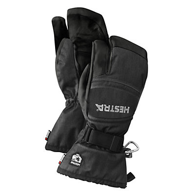 Hestra CZone Mountain 3 Finger Gloves, Charcoal-Black, viewer