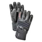 Hestra Dexterity Gloves, Black-Black, medium