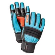 Hestra Dexterity Gloves, Turquise-Black, medium