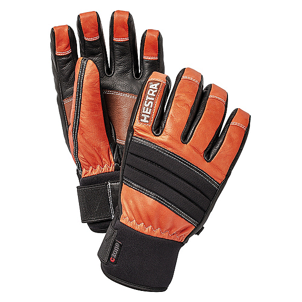Hestra Dexterity Gloves, Flame Red-Black, 600