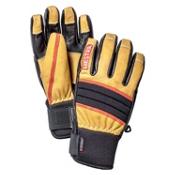 Hestra Dexterity Gloves, Natural Brown-Black, medium