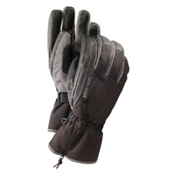 Hestra CZone Leather Gloves, Black-Grey, medium