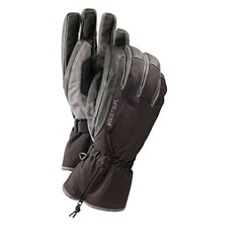 Hestra CZone Leather Gloves, Black-Grey, 256