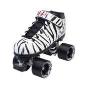 Riedell Dart Zebra Womens Speed Roller Skates 2016, , medium