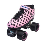 Riedell Dart Polka Dot Womens Speed Roller Skates 2016, , medium