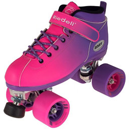 Riedell Dart Ombre Speed Roller Skates 2017, Purple Pink, 256
