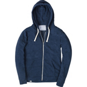 United By Blue Tafton Zip-Up Mens Hoodie, Blue, medium