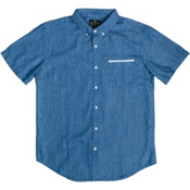 United By Blue Wenlock Chambray Mens Shirt, Cross Dot, medium