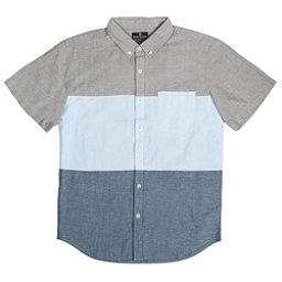United By Blue Kempston Colorblock Mens Shirt, Green-Blue-Blue, 256