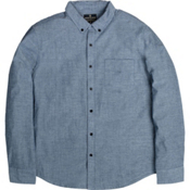 United By Blue Bryce Button Down Mens Shirt, Blue, medium