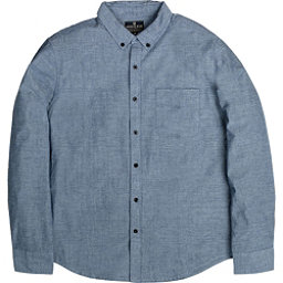 United By Blue Bryce Button Down Mens Shirt, Blue, 256
