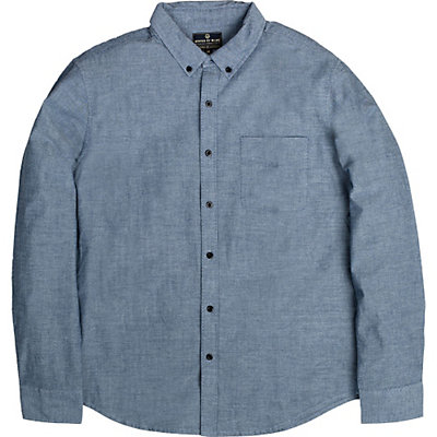 United By Blue Bryce Button Down Mens Shirt, Blue, viewer