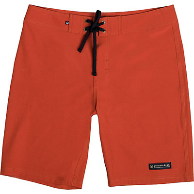 United By Blue Classic Mens Board Shorts, Red, viewer