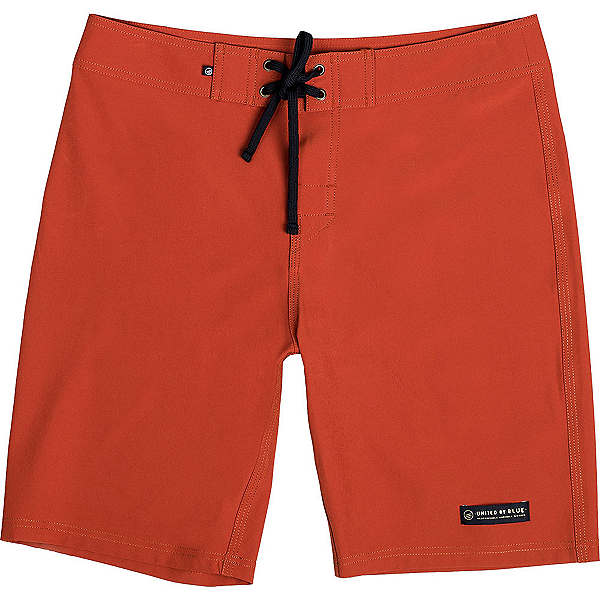 United By Blue Classic Mens Board Shorts, Red, 600