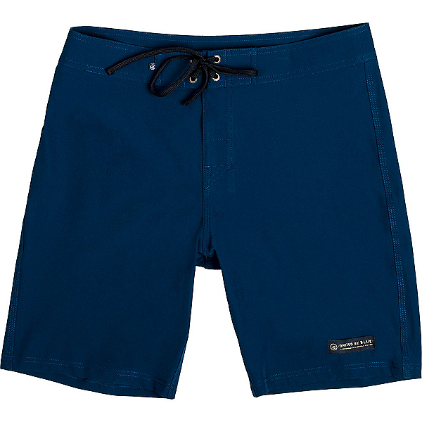 United By Blue Classic Mens Board Shorts, Blue, 600