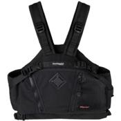 Stohlquist Brik Adult Kayak Life Jacket, Black, medium