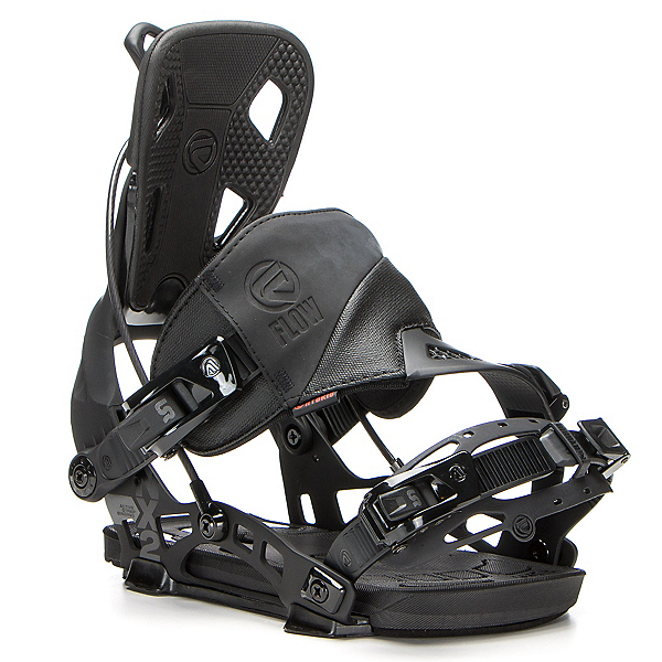 Flow NX2 Hybrid Snowboard Bindings, Black, 600