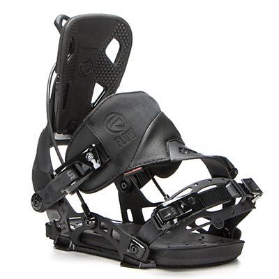 Flow NX2 Hybrid Snowboard Bindings, Black, viewer