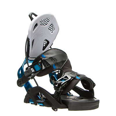 Flow Fuse GT Snowboard Bindings, Black-Blue, viewer