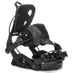 Flow Fuse Hybrid Snowboard Bindings, Black, 256