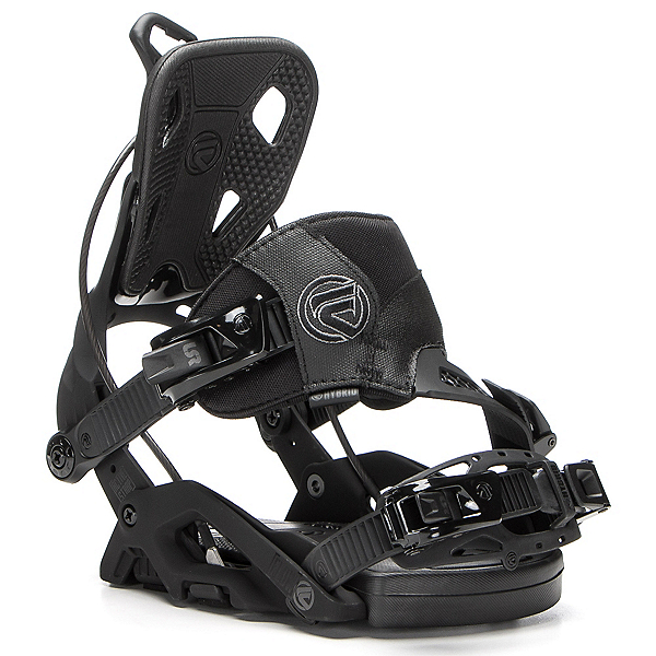 Flow Fuse Hybrid Snowboard Bindings, Black, 600