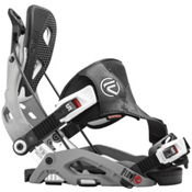Flow Fuse Hybrid Snowboard Bindings, Grey, medium