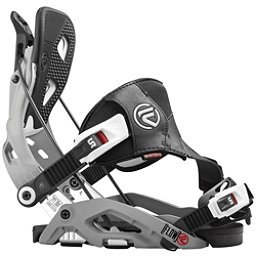 Flow Fuse Hybrid Snowboard Bindings, Grey, 256
