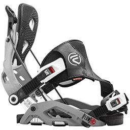 Flow Fuse Hybrid Snowboard Bindings, Grey, 256