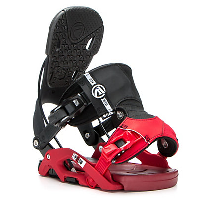 Flow Nexus Snowboard Bindings, Black, viewer