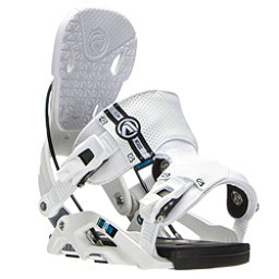 Flow Nexus Snowboard Bindings, White, 256