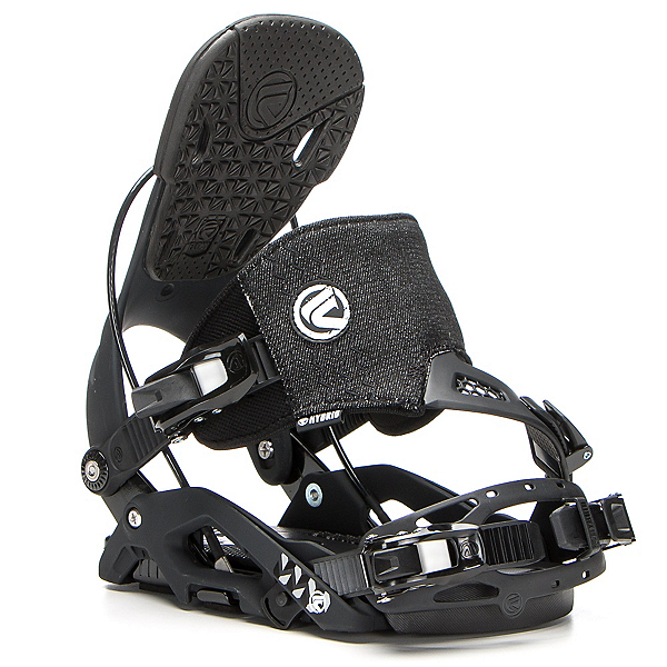 Flow Juno Hybrid Womens Snowboard Bindings, Black, 600