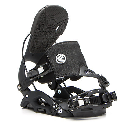 Flow Juno Hybrid Womens Snowboard Bindings, Black, viewer