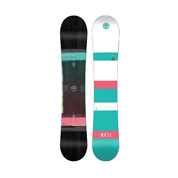 Flow Venus Black Womens Snowboard, , 600