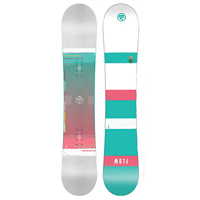 Flow Venus White Womens Snowboard, White, viewer
