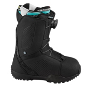 Flow Hyku Boa Womens Snowboard Boots, Black, medium