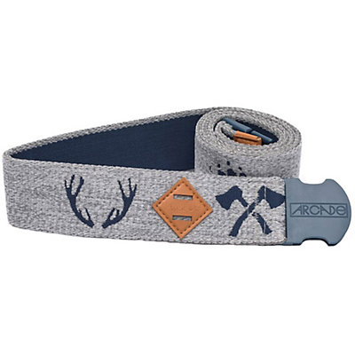 Arcade Belts The Buckskin Belt, Navy-Grey, viewer