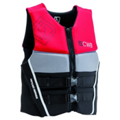 CWB Pure Neo Adult Life Vest 2016, Red-Black-Grey, medium