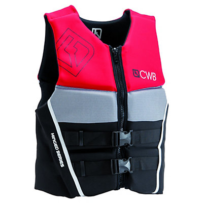 CWB Pure Neo Adult Life Vest, Red-Black-Grey, viewer