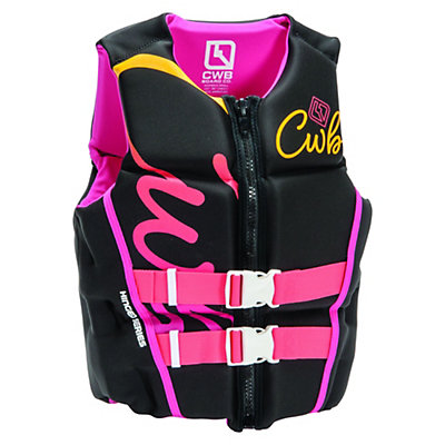 CWB Lotus Neo Womens Life Vest, Black-Pink, viewer