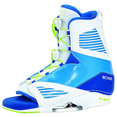 CWB Draft Wakeboard Bindings 2017, White-Blue, viewer