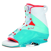 CWB Karma Womens Wakeboard Bindings 2017, Blue-White, medium