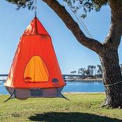 TreePod Hanging Treehouse 2017, Orange, medium
