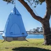 TreePod Hanging Treehouse 2017, Blue, medium