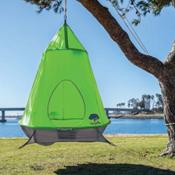 TreePod Hanging Treehouse 2017, Green, medium