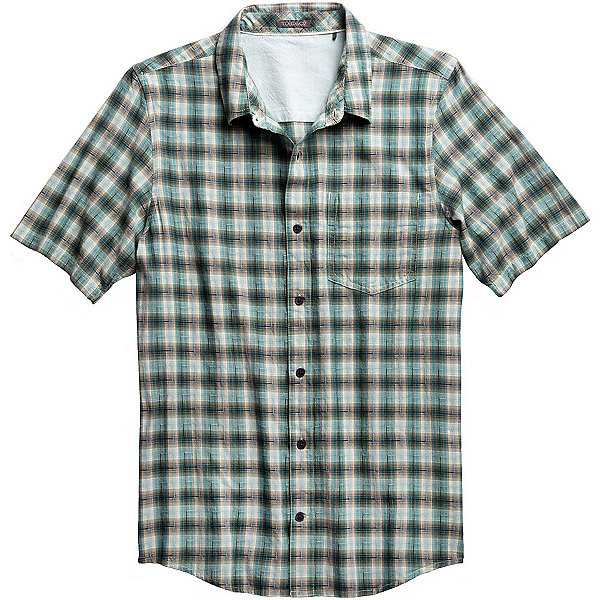 Toad&Co Open Air SS Mens Shirt, Mallard, 600