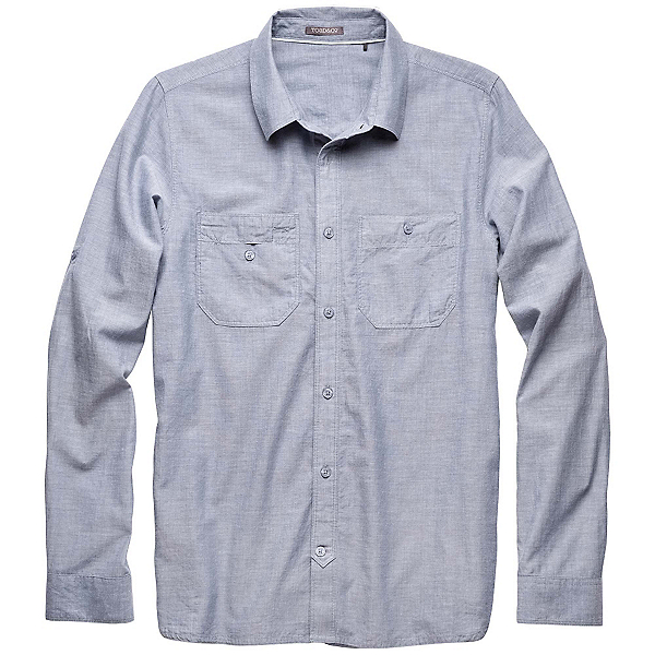 Toad&Co Honcho LS Mens Shirt, Moody Blue, 600