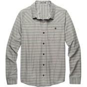 Toad&Co Wanderer LS Mens Shirt, Dark Graphite, medium