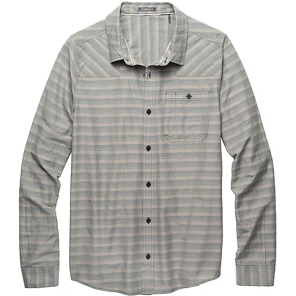 Toad&Co Wanderer LS Mens Shirt, Dark Graphite, 600