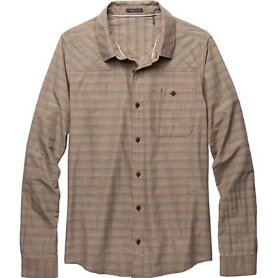Toad&Co Wanderer LS Mens Shirt, Dark Graphite, viewer