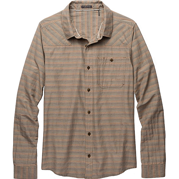 Toad&Co Wanderer LS Mens Shirt, Jeep, 600